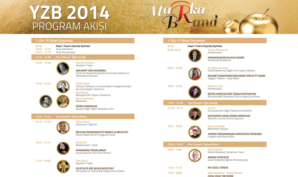 YZB 2014 Program Akışı